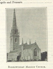 """British Library digitised image from page 190 of """"Companion to St. Asaph, with maps and illustrations"""""""