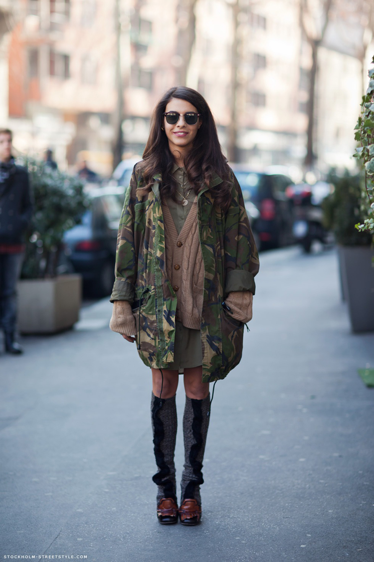 Army Jackets: How to wear an OVERSIZED, masculine style ...