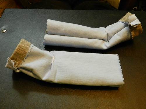 Making padded socks for Thatsit