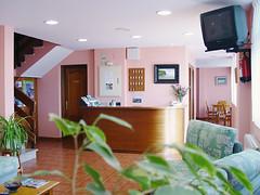 Recepción. Hotel Villanueva