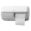 SCA 557000 Tork Twin Conventional Toilet Roll Dispenser White
