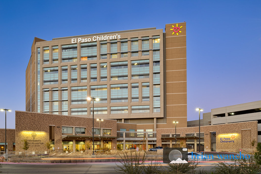 El Paso Childrens Hospital Exterior Architecture Photogra Flickr