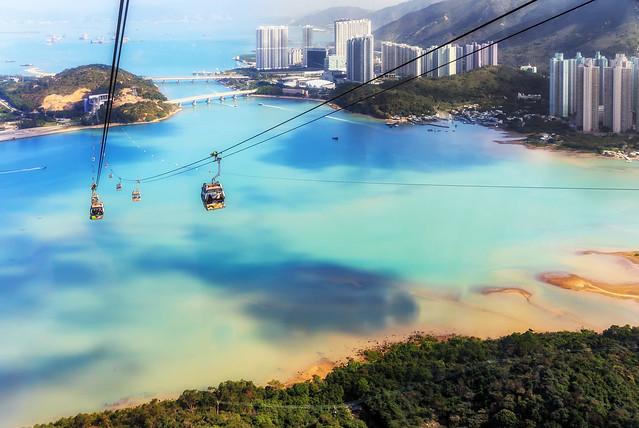 Hong Kong gondolas
