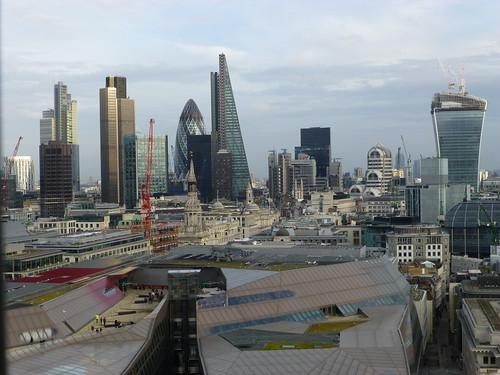 City skyline, EC4