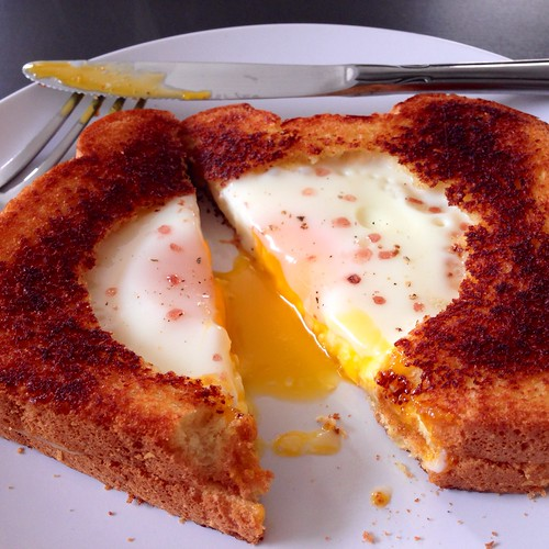 The Cooking Of Joy: Grilled Cheese Egg In A Hole