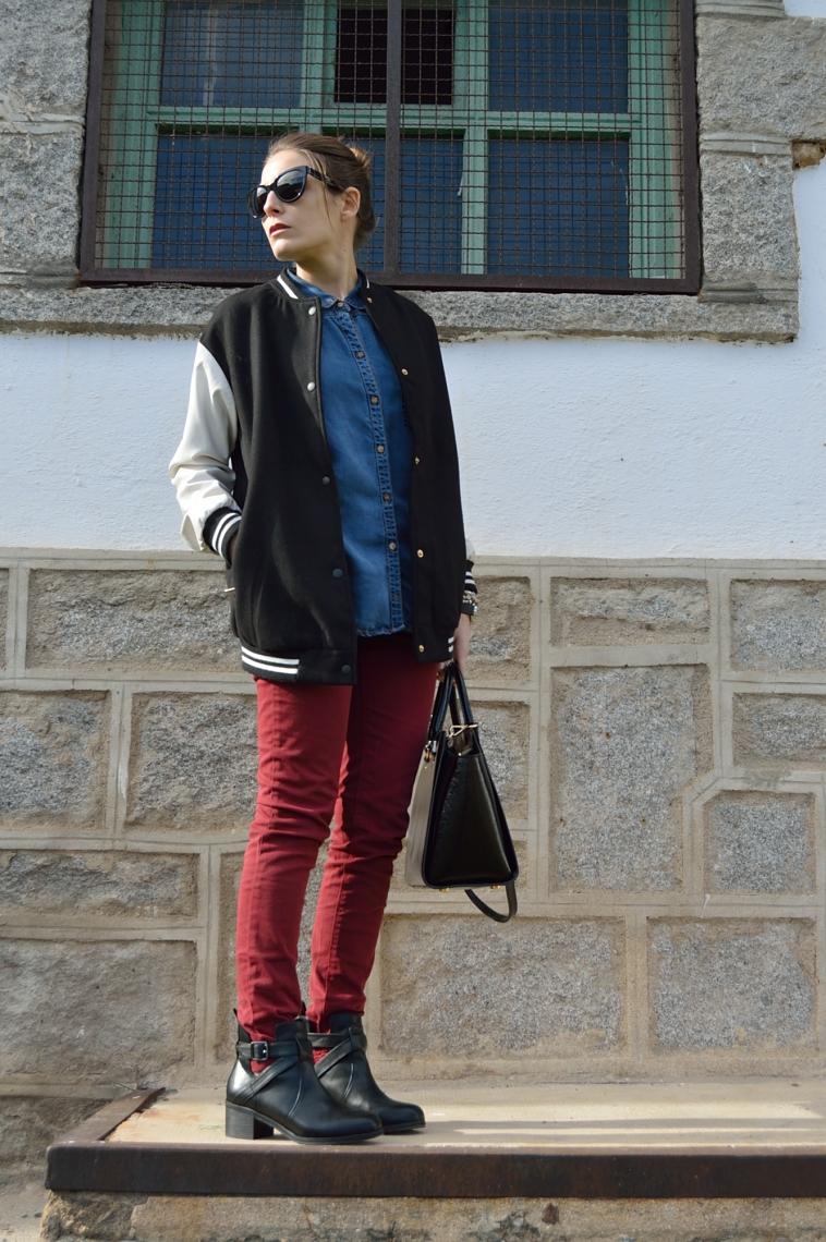 lara-vazquez-madlula-blog-fashion-trends-bomber-denim-burgundy