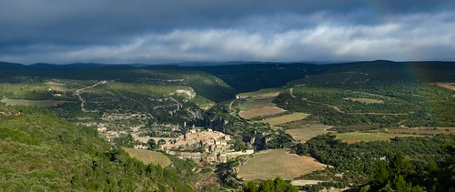 panorama france minerve arcenciel languedocroussillon hérault nikond7000