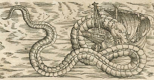 gesner's sea serpent