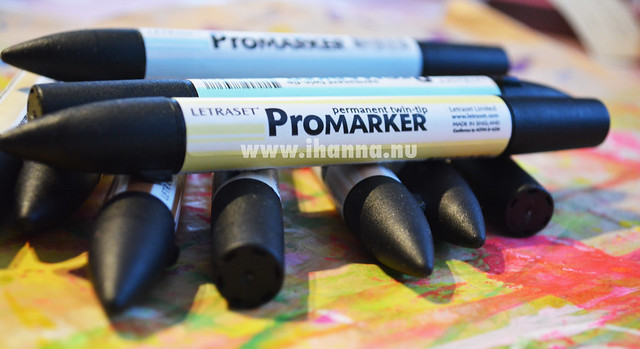 Promarker pen with twin-tip