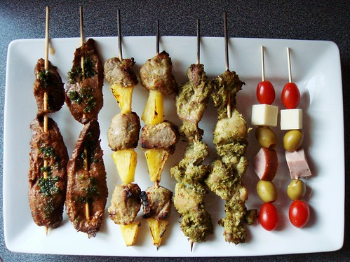 Assorted Skewers For Olympics Cheering Party
