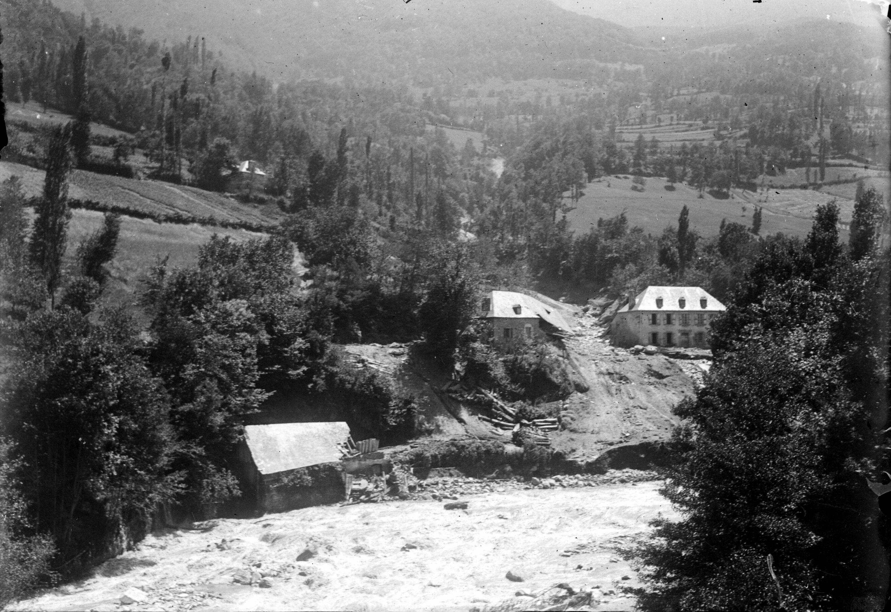 Inondation, Luchon