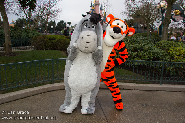 Meeting Eeyore and Tigger