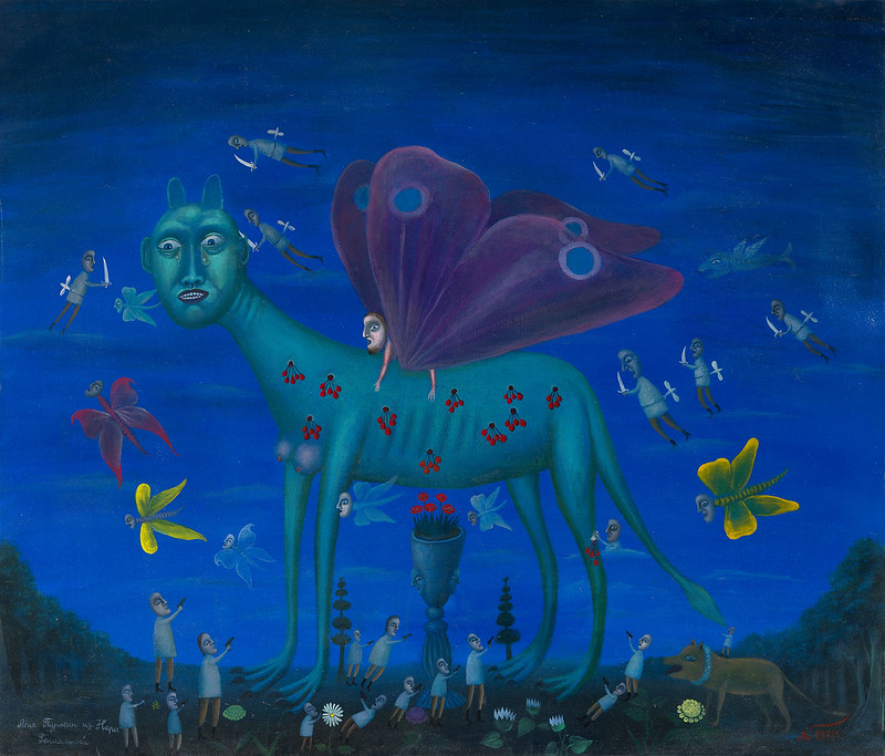 LEONID PURYGIN - Green Butterfly Sphinx