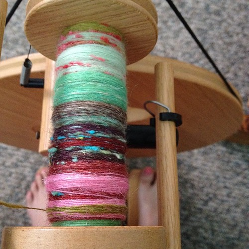 Dear Lacey, these batts are too fun! I love spinning them. Thank you again! xx @moonroveryarn