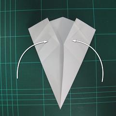 วิธีพับกระดาษเป็นรูปปลาแซลม่อน (Origami Salmon) 021