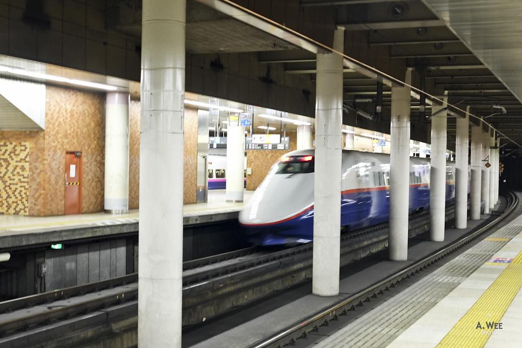 Nagano Shinkansen Train