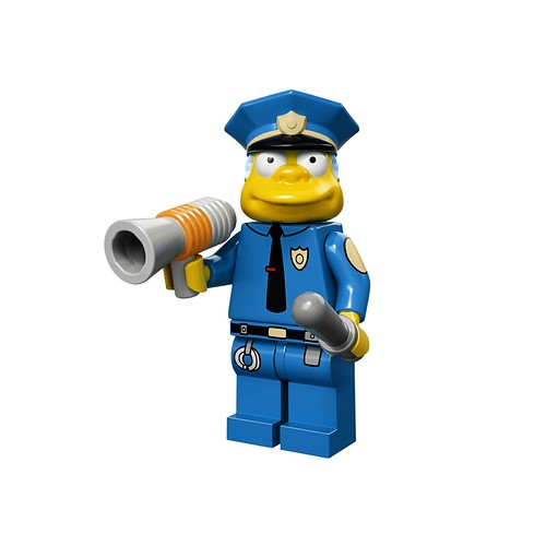 71005 The Simpsons Collectable Minifigures Chief-Wiggum