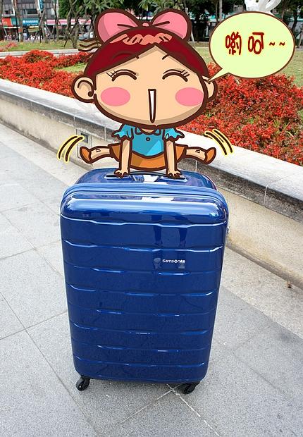 新秀麗行李箱23