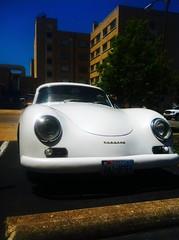 volkswagen beetle(0.0), convertible(0.0), supercar(0.0), race car(1.0), automobile(1.0), automotive exterior(1.0), vehicle(1.0), automotive design(1.0), porsche 356(1.0), porsche(1.0), antique car(1.0), vintage car(1.0), land vehicle(1.0), sports car(1.0), classic(1.0),