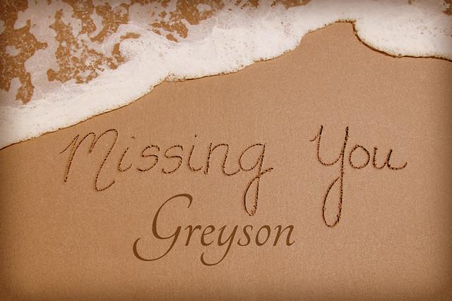 Missing You Greyson