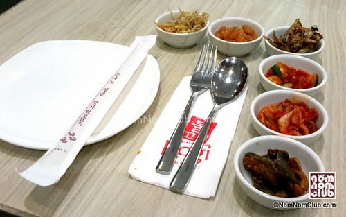 Banchan: six mini Korean appetizers set