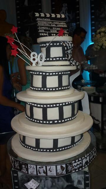 O bolo de aniversário assinado por Graça Malheiros