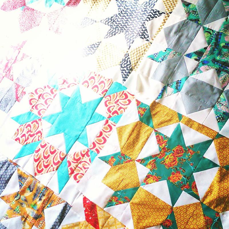 swoon quilt.in progress