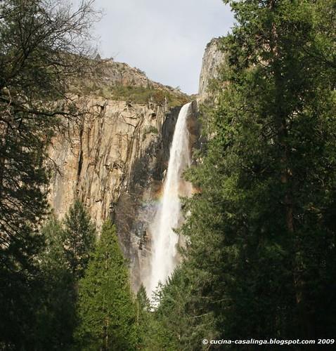 Yosemite BridalveilFall Detail