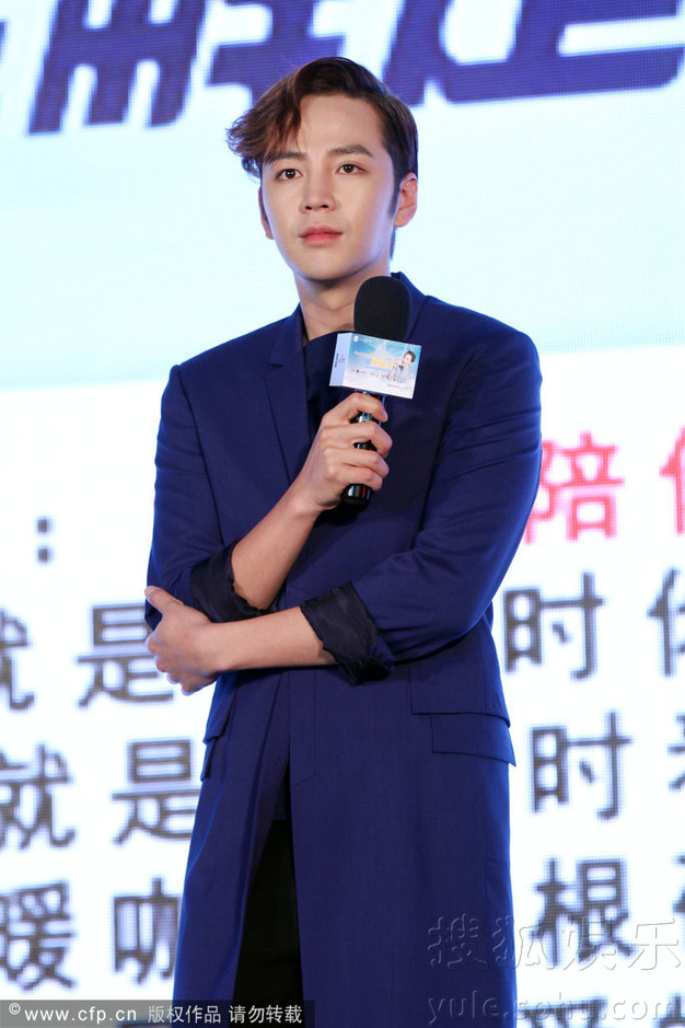 [Pics] Jang Keun Suk Calls For More Charity Work and Be Eco-Friendly At Caffe Bene FM_20140426 14034978496_bcc0133771_o