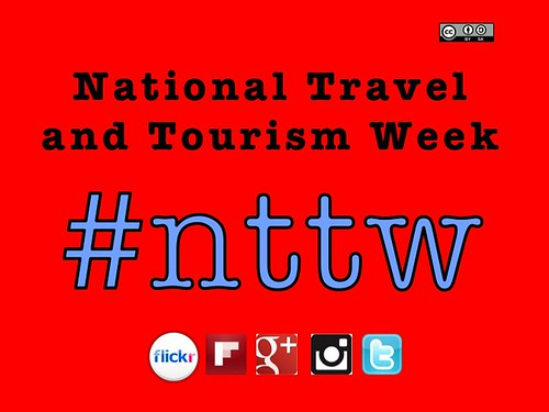 #nttw is the hashtag for National Travel and Tourism Week in the USA http://planeta.wikispaces.com/nttw