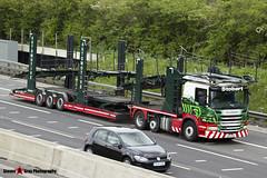 Scania P440 6x2 Car Transporter - PE13 CFM - A9315 - Anna Louise - Eddie Stobart Automotive - M1 J10 Luton - Steven Gray - IMG_8349