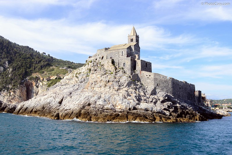 St Peter Church in Porto Venere, Italy