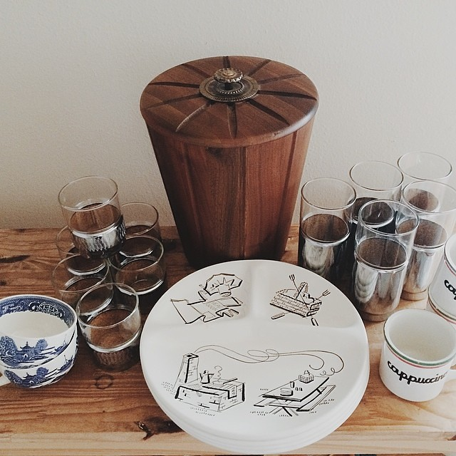 Recent vintage finds. Coming soon to Vintage Soup (vintagesoup.etsy.com). #vintage #vintagesoup #thrifted #thrifting