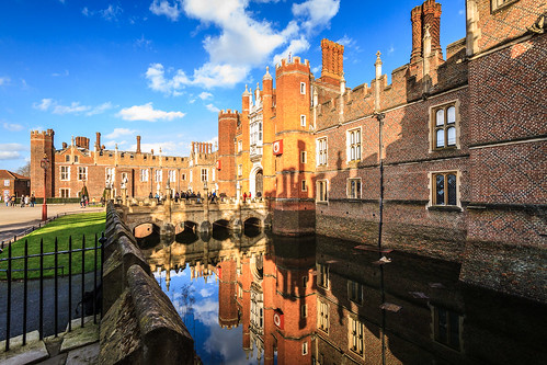 Reflecting on Hampton Court Palace #1