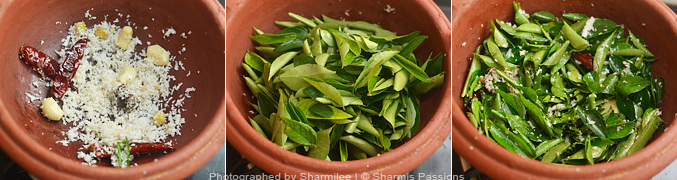 How to make Curry Leaves Kuzhambu - Step2