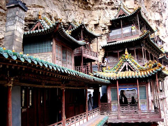 Templo colgante Datong