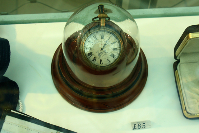 In the Cutty Sark gift shop, Greenwich