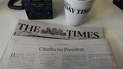 Cthulhu for President - London Times