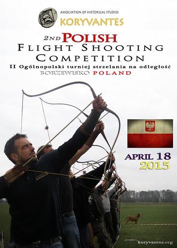 Συμμετοχή στον 2ο Διαγωνισμό Μέγιστου Βεληνεκούς στο Borzewisko της Πολωνίας, 18 Απριλίου 2015