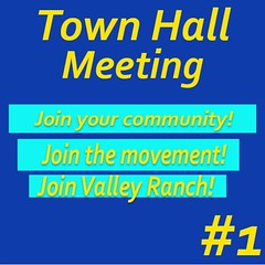 Don't forget! Tomorrow is the Town Hall meeting! The evening begins at 6:30 PM.  Learn about the two proposed amendments and the impact they could make on Valley Ranch.See you there. Oh and Happy Sunday! #ValleyRanchIrvingTexas  #valleyranch  #ValleyRanch