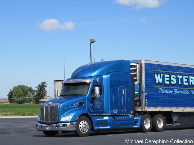 Western Distributing Peterbilt 579, Truck #622