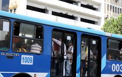 06/24/2016 - 12:17 - Guayaquil, viernes 24 de junio del 2016 (Andes).-Ante la queja de miles de usuarios que usan diariamnete el sistema de transportación Metrovia, se creó una veeduria ciudadana para verificar las condiciones en las que se presta ese servicio público. Foto:Andes/César Muñoz