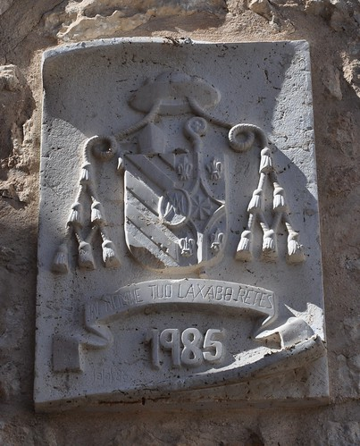 Corral de Almaguer (Toledo). Iglesia de Nuestra Señora de la Asunción. Escudo