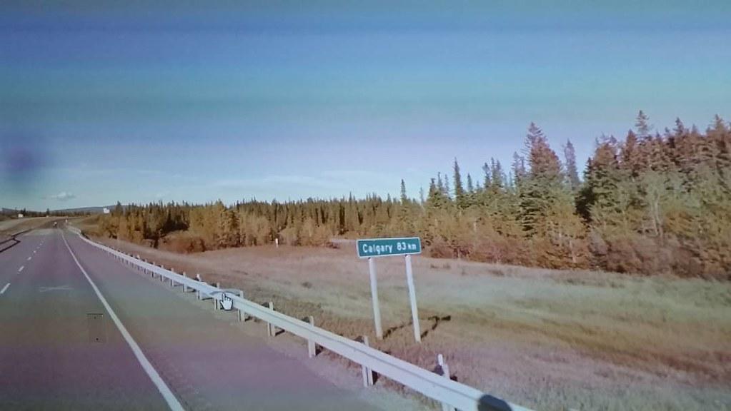83km t Calgary #ridingthroughwalls