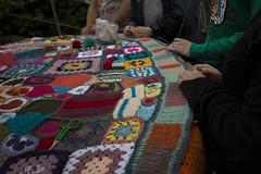 Yarn bombing Besançon 55