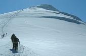 Gipfeletappe bei Ararat-Besteigung. Foto: Uli Aldebert.