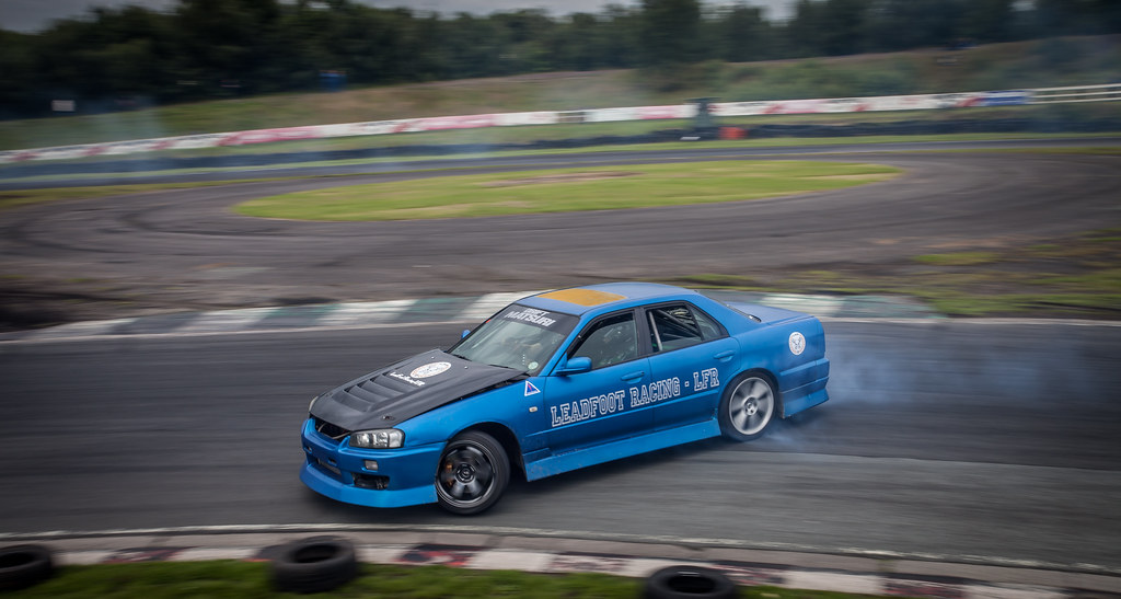 Sean Drifting at Three Sisters Race Track