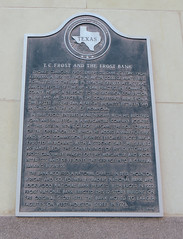 T.C. Frost and the Frost Bank Marker, San Antonio, Texas