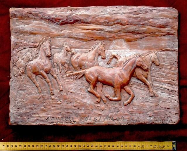 cavalli di irlanda terracotta