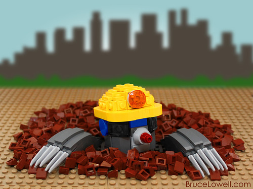 LEGO Douglas the Mole